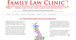 Preview of familylawclinic.co.uk